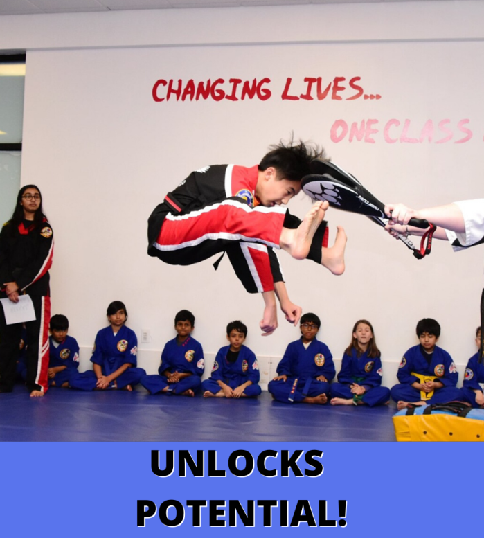 Unlock Potential with Karate for Teens!